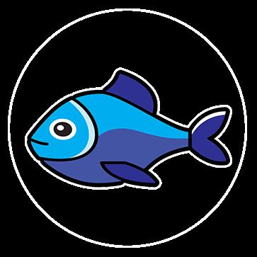 Bevat vis (aanpasbaar)