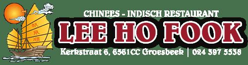 Restaurant Lee Ho Fook Groesbeek