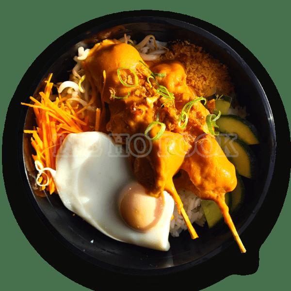 Chicken Satay Bowl