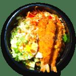 Crispy Shrimp Bowl